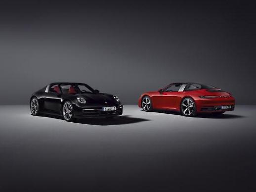 포르쉐, 신형 911 타르가4ㆍ4S 공개...하반기 국내 출시