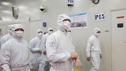 美 화웨이 제재 사흘 만에 중국 방문한 이재용 부회장…반도체비전 2030 강한 의지