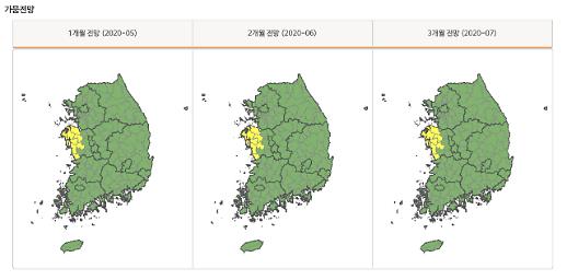 [공기업-박스] 전 국토 가뭄 상태 한눈에 살핀다