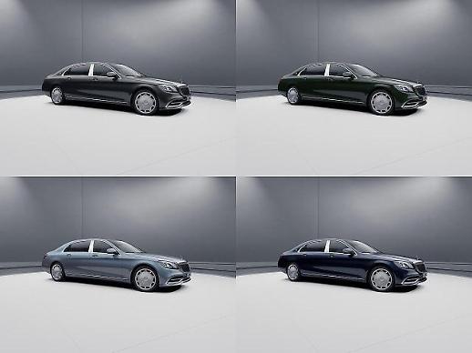 벤츠, 마이바흐 S 650 풀만 출시...9억3560만원