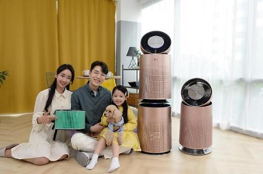 LG전자, 퓨리케어 360도 공기청정기 펫 로즈골드 신제품 출시