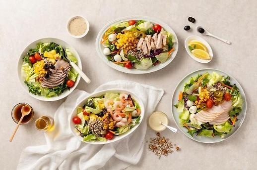 Sức khỏe trở thành xu hướng…Các công ty thực phẩm liên tiếp khai trương cửa hàng bán salad