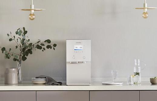 코웨이, 신제품 AIS 출시…얼음정수기 시장 공략 박차