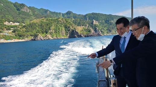 포스코, 철강부산물 활용해 울릉도 연안 '바다숲' 조성