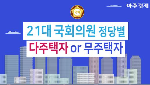 [그래픽] 397억원? 21대 국회, 가장 많은 부동산 보유한 의원은? [아주경제 차트라이더]