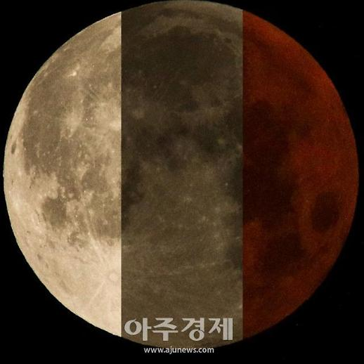 [포토] 한눈에 비교해보는 반영월식