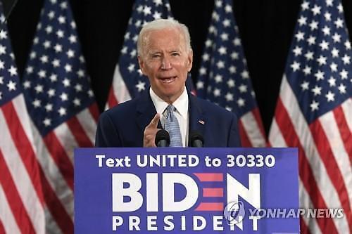 바이든, 3수 끝에 美민주당 대선후보 확정...대의원 과반수 차지