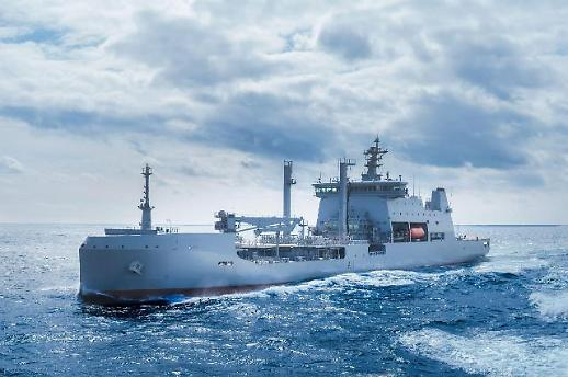 현대重, 뉴질랜드 최대규모 함정 인도