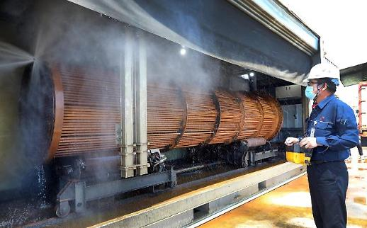 SK에너지, 복잡한 열교환기 자동세척 기술 국내 첫 개발