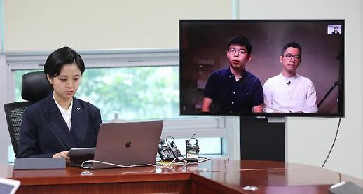홍콩보안법에도 조슈아 웡, 입법회 선거 출마한다