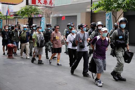 홍콩보안법 시행 일주일만에 중국식 통치... 무장경찰 300명 파견