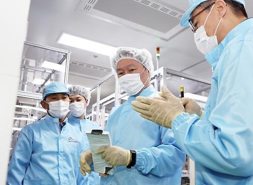 정의선 회장 SK이노베이션 최고 기술 NCM구반반 찾아간다