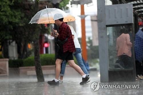 [내일 날씨]전국 곳곳 소나기... 예상 강수량 5~20mm 수준