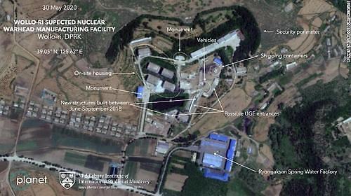 북한 평양 원로리 지역서 핵탄두 개발 포착-CNN
