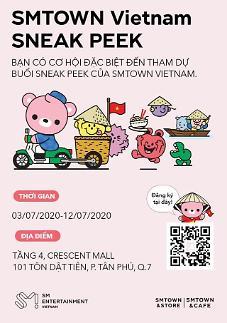 SM mở cửa hàng bán goods kiêm quán cafe tại Việt Nam…Cửa hàng đầu tiên tại nước ngoài