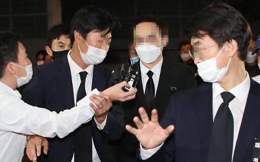 [포토] 빈소 도착한 故박원순 아들 박주신씨
