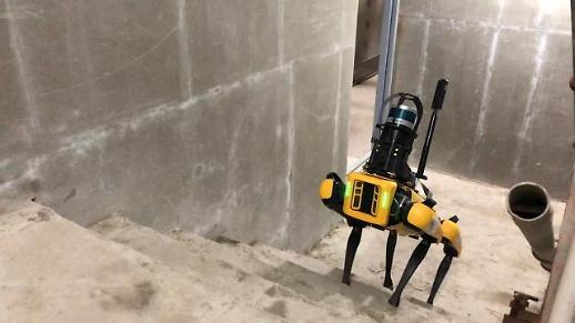 GS E & C giới thiệu robot Boston Dynamics Spot tại các công trường xây dựng