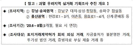 국토부 실거래 기획조사 강남 도곡동·송파 신천동까지 확대