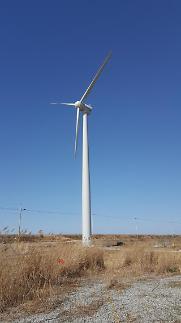 한전, 한국기후 맞춤형 중형풍력발전기 개발…저풍속 발전 가능
