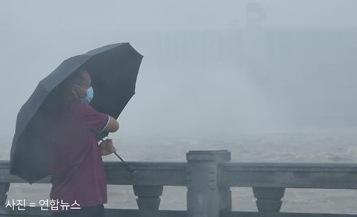 [현장 포토] 중국홍수... 댐 마저 아슬아슬