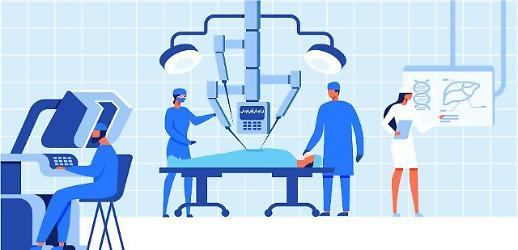 """[로봇수술 '시동'] """"15조 시장 잡아라""""…국내 기업 '로봇수술' 가속"""