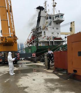 [코로나19] 러시아 선박 관련 확진자 증가…정부 선원 음성확인서 제출 의무화