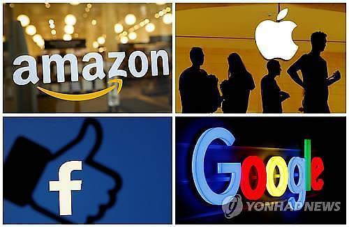 미국 IT 공룡 빅4 CEO 독점 아니다..反독점법 위반 의혹 전면 부인