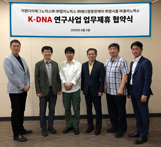 EDGC 등 유전체 5개 기업 컨소시엄 구성…K-DNA 사업 참여