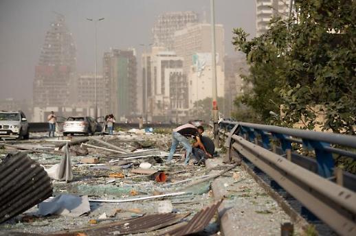 레바논 베이루트 폭발 참사에 세계 지도자들 애도