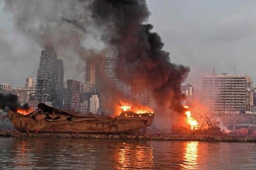 외교부 베이루트 폭발로 재외국민 2명 주택 일부 파손
