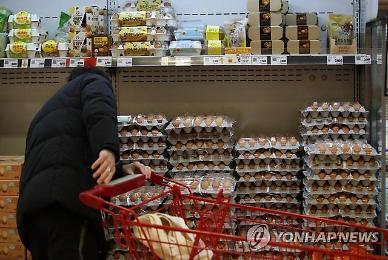 Người tiêu dùng Hàn Quốc chỉ còn biết thở dài khi thấy mức giá điên rồ của hành tây và trứng