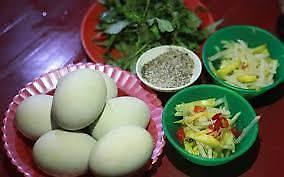 Trứng vịt lộn bị cấm bán ở Hàn Quốc?