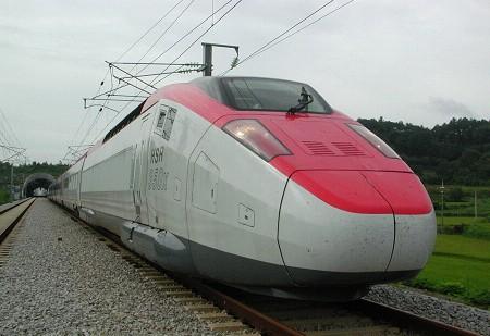 韩国型高速列车研发成功