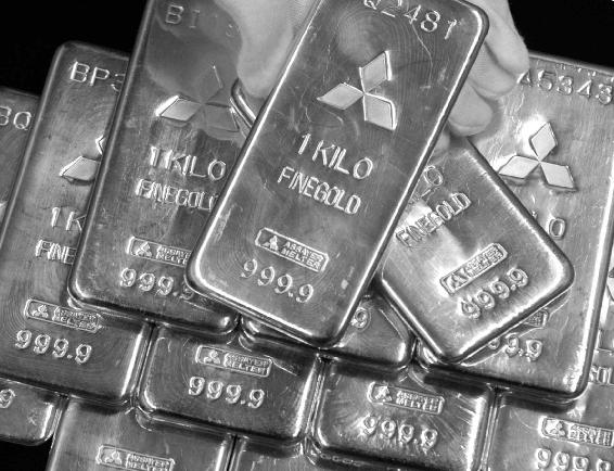 黄金价格急剧上涨