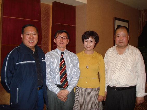 中国作家协会主席铁凝的绚丽笑容
