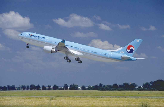 大韩航空国际货运量连续4年世界第一