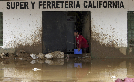 .[영문] Flooding leaves 46,000 people homeless in Costa Rica.