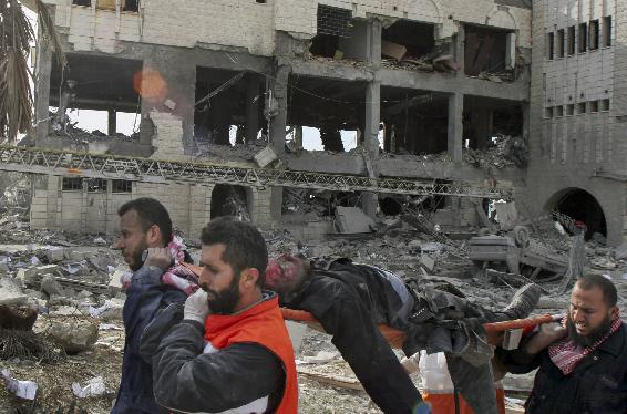 .[영문] Israeli town has mixed feelings after Hamas counterattack  .