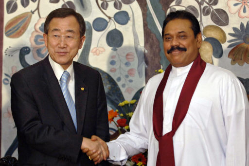 .UN Chief Asks Access for Relief Agencies into Sri Lanka Refugee Camps.