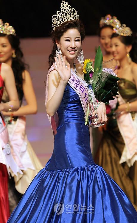 .金周丽获得2009韩国小姐选美大赛桂冠.