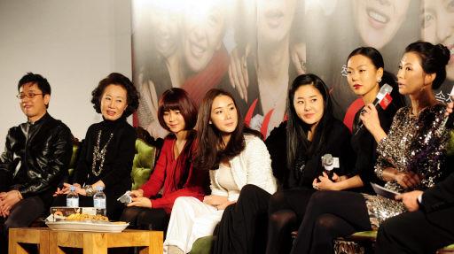韩国影片《女演员们》举行新闻发布会