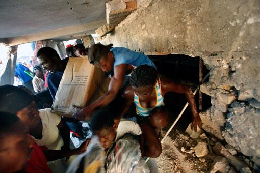.As Haiti Crisis Escalates, Relief Effort Begins.