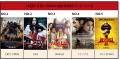 韩国7月第二周周末电影票房榜