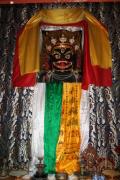 <燕赵访古>白塔寺,一位尼泊尔帅哥在微笑