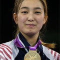 <伦敦奥运>韩国选手黄敬善获得跆拳道67公斤级金牌