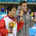 <伦敦奥运>中国选手邱波获男子十米跳台银牌