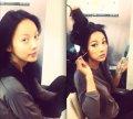 .Singer Hyori revealed her 3-step transformation on her Twitter.