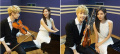 .K-pop singers Henry and Seohyun make perfect harmony.