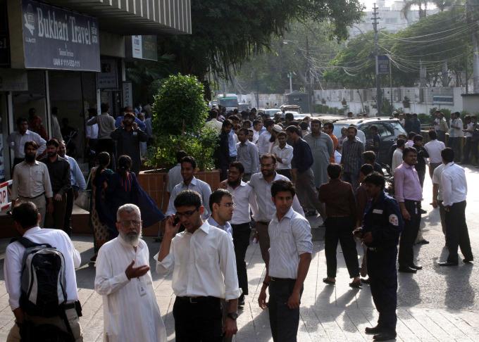 巴基斯坦地震已造成93人死亡