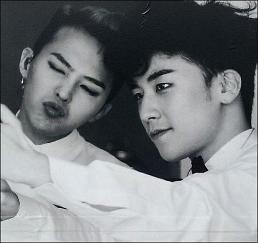 .Big Bang members Seungri and G-Dragon post new selfie on Instagram.